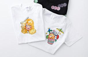 デザイン体験Tシャツ